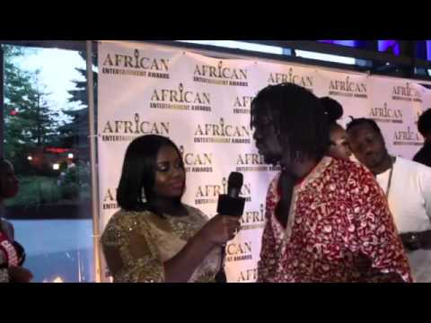 PLAYBAK MAGAZINE AT AFRICAN MUSIC AWARDS CANADA WITH EMMANUEL JAL
