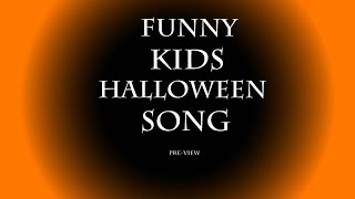 Funny Kids Halloween Song - Free Download - Children Scary Music
