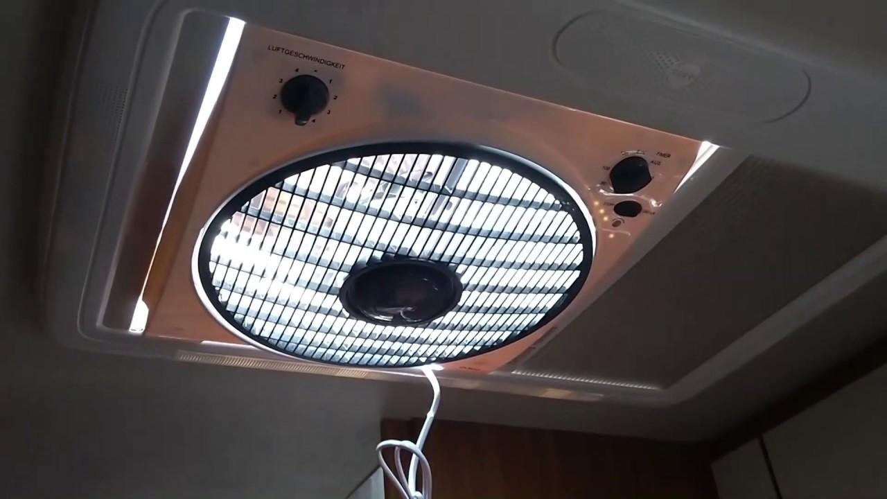 Geheim Tipp!!!! Dieser Ventilator passt in die Dachhaube vom Wohnmobil