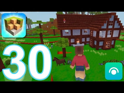 Block Craft 3D: City Building Simulator - Gameplay Walkthrough Part 30 - Level 14, Inn (iOS)