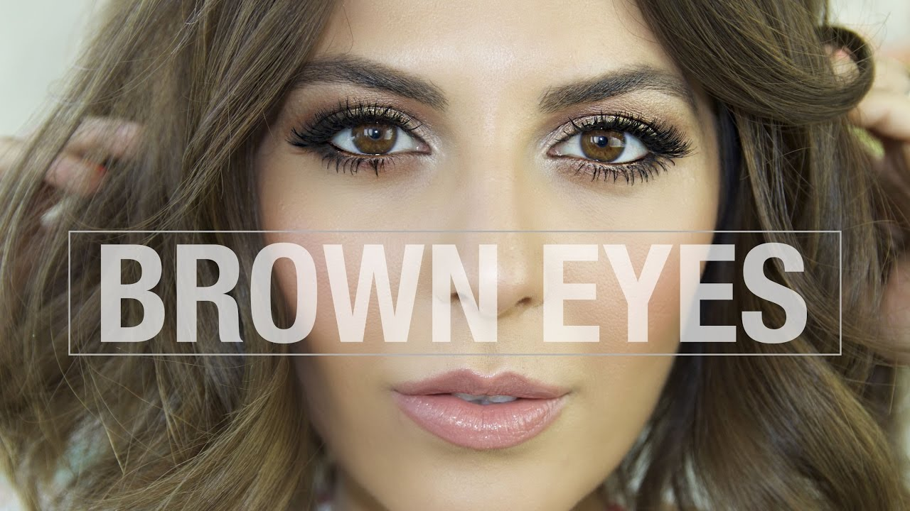 Eye makeup for brown eyes | how to do smokey eye makeup ...