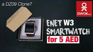 Enet W3 Smartwatch | DZ09 Clone? + Firmware Download