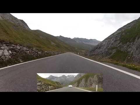 Road to the Stelvio Pass in a BMW 850 - FinalGear Roadtrip 2012 - FGTV