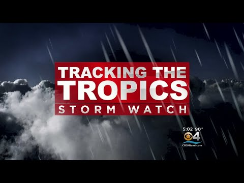 Tropical Storm Harvey Forms East Of Leeward Islands