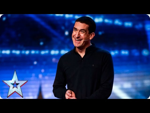 Can Darren Altman Make A Good Impression Week 1 Auditions Britain S Got Talent 2016