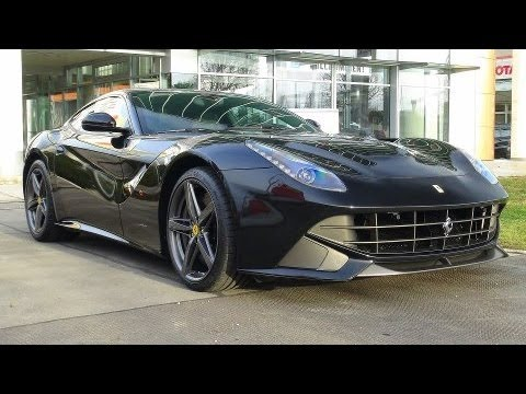 Ferrari F12 Interior >> Black Ferrari F12 Berlinetta - YouTube