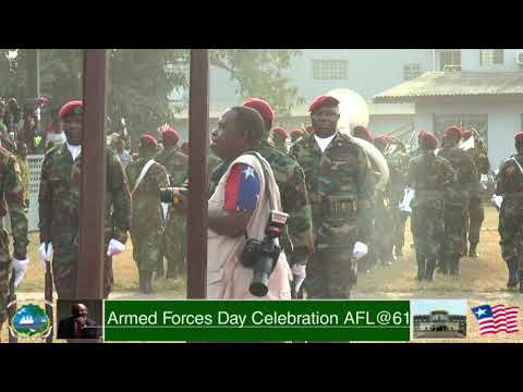 ARMED FORCES DAY CELEBRATION MONDAY FEB.12, 2018 - ARMED FORCES OF LIBERIA@61