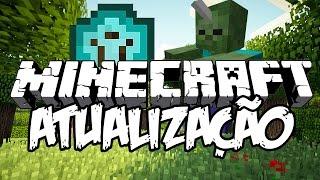 ESCUDOS E ZOMBIE UNICÓRNIO! - Atualização de Minecraft 1.9