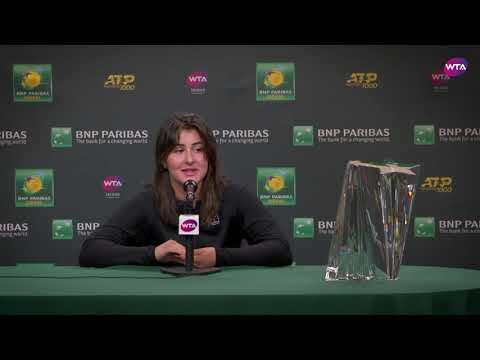Bianca Andreescu | 2019 BNP Paribas Open Final | Press Conference