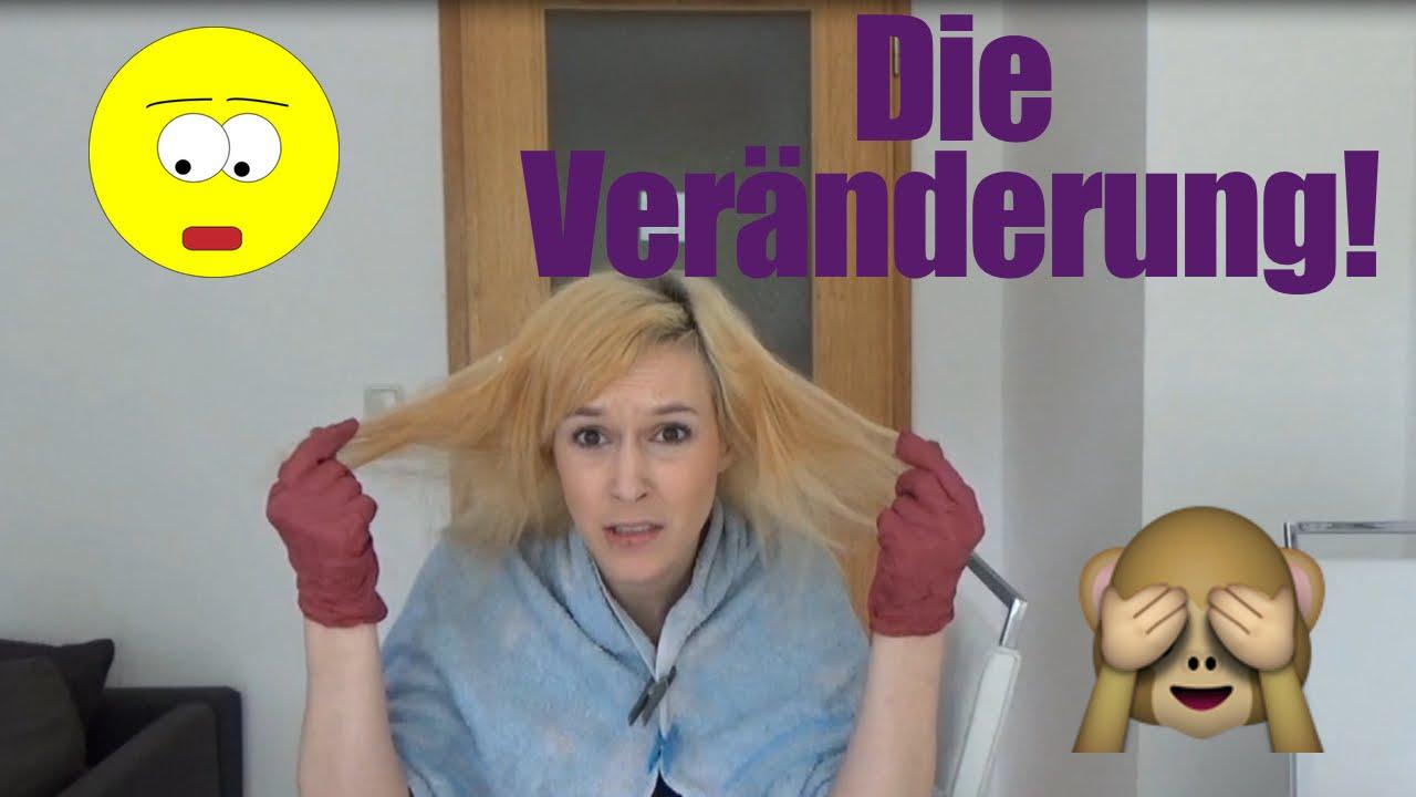 Haare blond tonen geht das