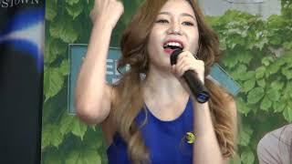 힘 내!, 소녀시대 GIRL'S GENERATION, 여성그룹 라미슈 RAMISU, 강남역허브프라자 2017…