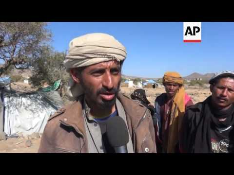 Colder weather piles more misery on Yemen's displaced