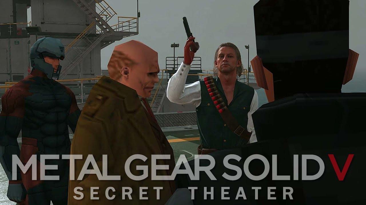 mgsv secret theater revolver ocelot youtube