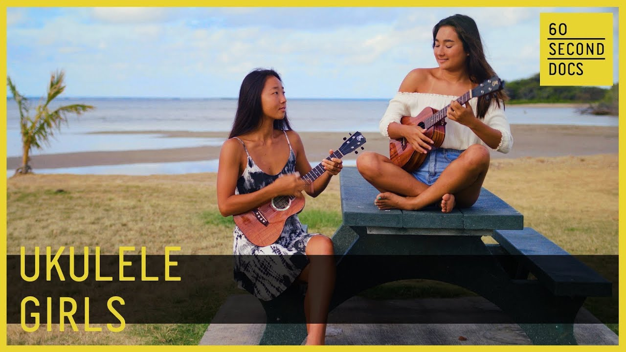 Ukulele Girls Honoka & Azita // 60 Second Docs