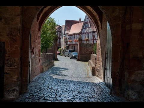 Büdingen, Medieval Town, Germany's Best Kept Secret