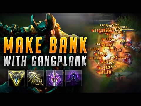 MAKING BANK WITH GANGPLANK! TOBIAS FATE JR! - Road to Challenger #50