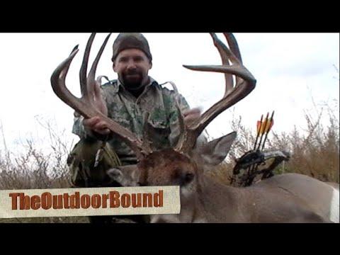 Bowhunting: MONSTER Whitetail Buck Vs Thunderhead Broadhead