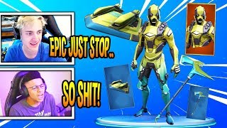 STREAMERS HATE *NEW* UPDATED VERTEX V1 SKIN! *LEGENDARY* Fortnite EPIC & FUNNY Moments