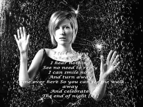 Dido - End of night + Lyrics