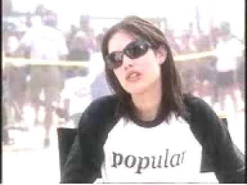 Carly Pope on Friday