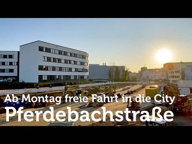Witten: Öffnung der Pferdebachstraße in Richtung City am Montag