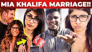 MIA KHALIFA எங க த ய வமChennai Fans Reaction on Mia Khalifa Wedding