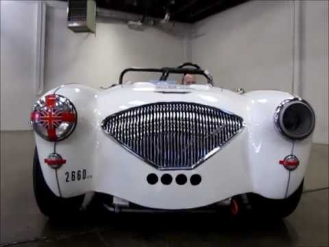 Austin Healey For Sale >> 1956 Austin Healey 100 for Sale: 100-4 Race Car - YouTube