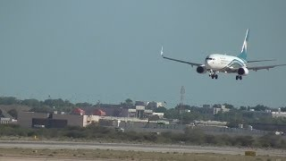 Muscat Airport, Oman. - Take off.