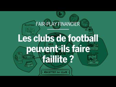 Les clubs de football peuvent-ils faire faillite ?