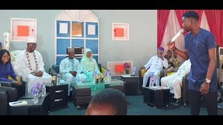 This Young Comedian Got Gani Adams,Sheik Jamiu,Others Seriously Laughing With His Jokes