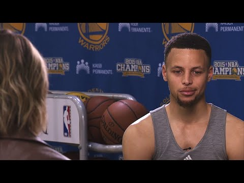 Stephen Curry Interview With Kristen Ledlow | March 3, 2016 | 2015-16 NBA Season