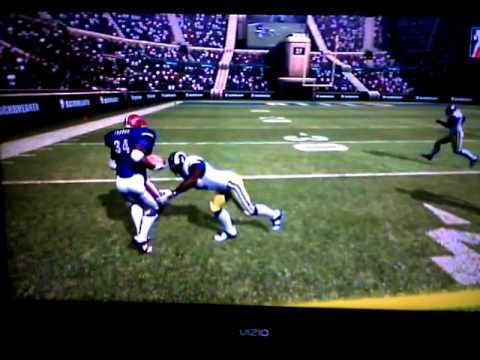 "Backbreaker - 1990 Bills vs. 1999 Rams  ""Ball carrier should always secure the rock"