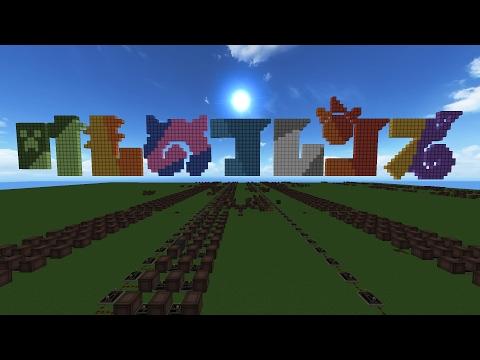【Minecraft】けものフレンズOPを演奏したらたーのしー!