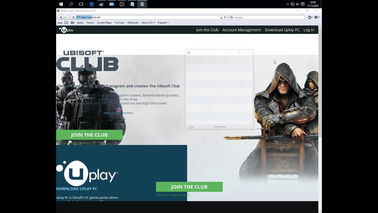 How To Uplay Guide For Your Ubisoft Steam Games Youtube