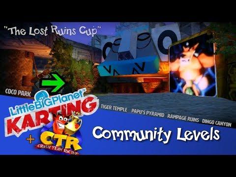 LittleBigPlanet Karting | Crash Team Racing Tracks, 1/3 (Community Levels)