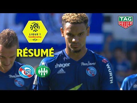 RC Strasbourg Alsace - AS Saint-Etienne ( 1-1 ) - Résumé - (RCSA - ASSE) / 2018-19 thumbnail