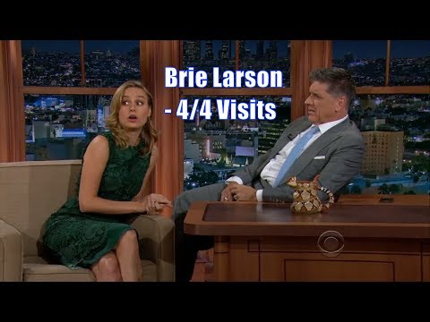 Brie Larson  Has A Fake Argument With Craig  44 Appearances In Chron. Order HD