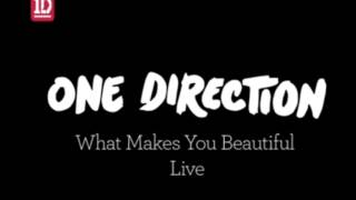 One Direction. what makes You Beautiful