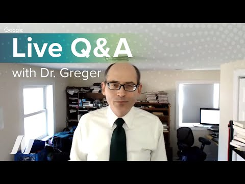 Live Q&A with Dr. Greger of NutritionFacts.org on December 28 at 1 PM ET