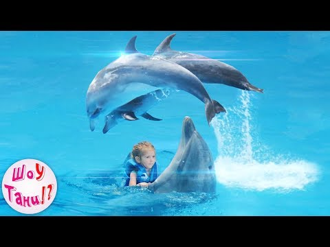 🐳 ТАНЯ ПЛАВАЕТ с ДЕЛЬФИНАМИ! 🐬 Дельфинарий НЕМО (NEMO) в ОДЕССЕ! 🌊  Шоу ДЕЛЬФИНОВ! 🎉 NEMO ODESSA! 💦