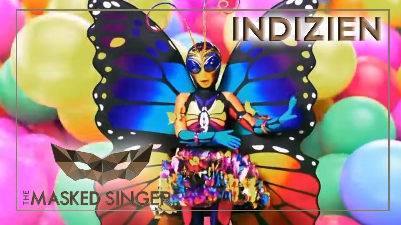 Masked Singer Schmetterling