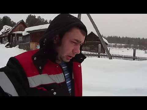 Домик в деревне 55.......снег на крыше !!!