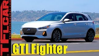 Does The 2018 Hyundai Elantra GT Sport Out GTI The Golf GTI?