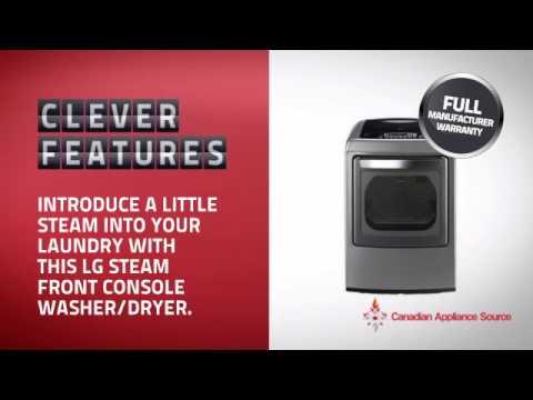 LG DLEY1201V Front Load Dryer