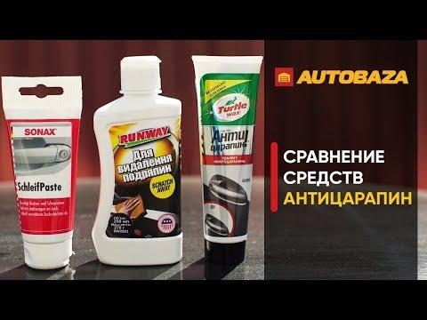 Как убрать царапины с кузова авто? Какой антицарапин лучше? Средство для удаления царапин.