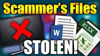 STEALING A SCAMMER'S FILES! | Tech Support Scammers EXPOSED!