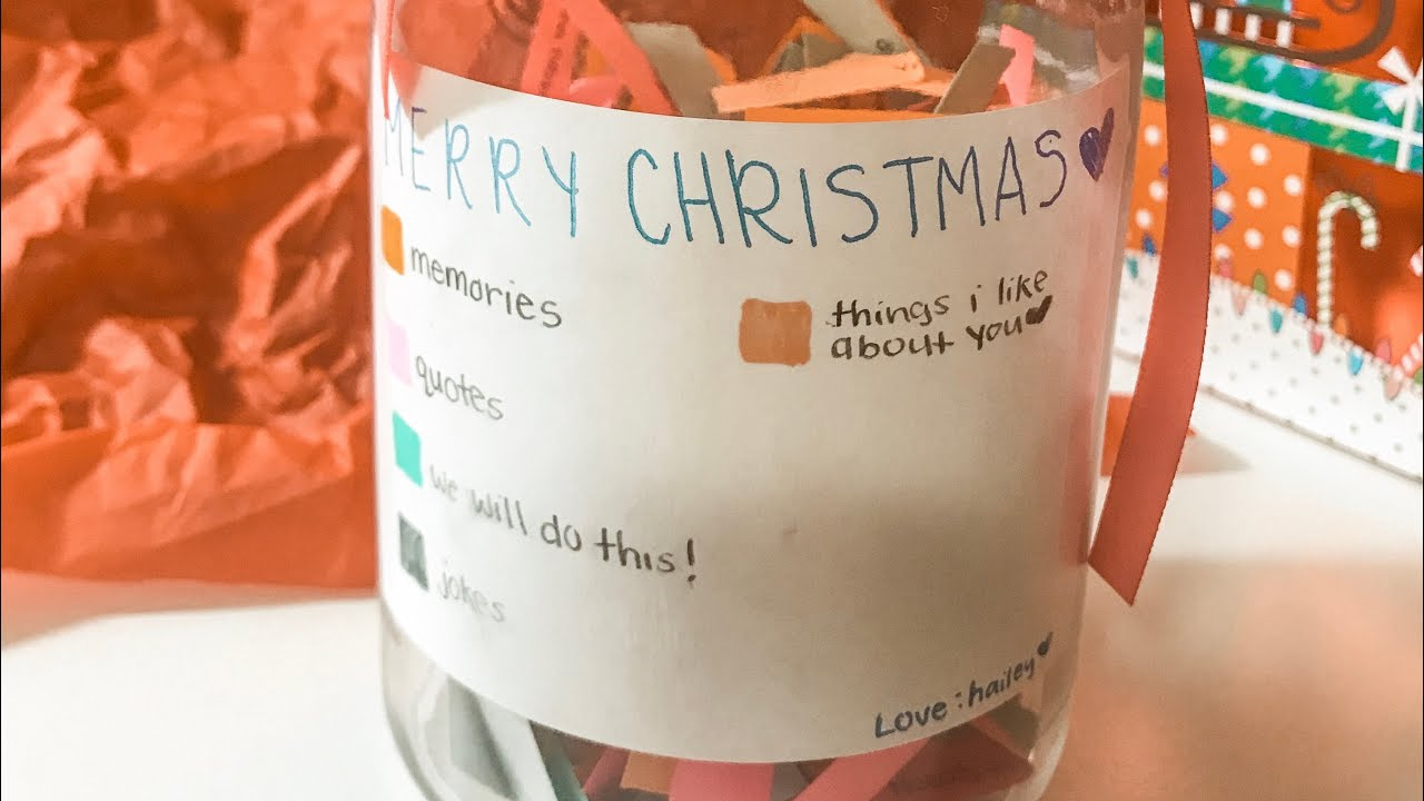 Diy 365 Note Jar For Friends Family Etc Youtube