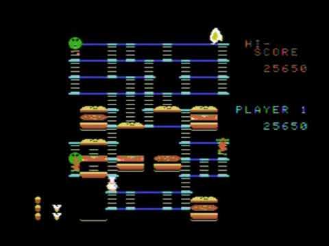 Burgertime Comparison ColecoVision