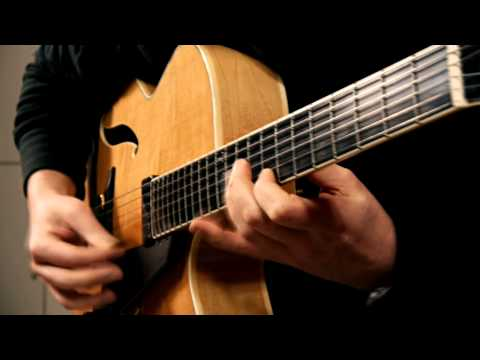 Autumn Leaves - Bigband Version - Played by Andreas Schulz w. Peerless Imperial Archtop