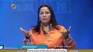 Fanny García: Henri Falcón reúne todos los requisitos para alcanzar el triunfo el 20M (2/2)